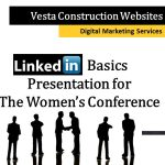 Quick Fixes for LinkedIn Users – Gets Great Response at Women's Conference